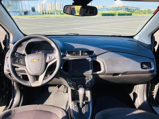 Chevrolet Onix 1.4 LTZ automático 2016 Vendo, troco e financio - Foto 7