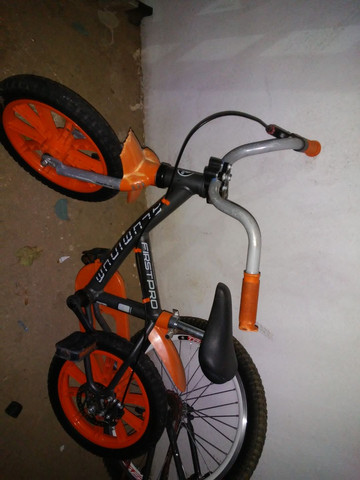 Bike aluminio freio a disco infantil so 269