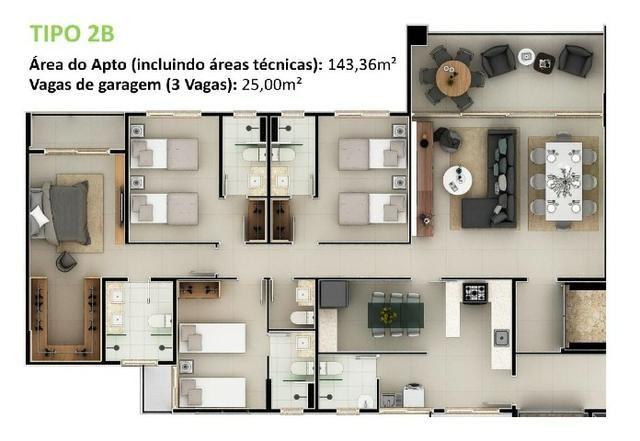 34- Cidade do Porto seu mais novo lar com 3 e 4 Suítes. Lazer completo para sua família! - Foto 15