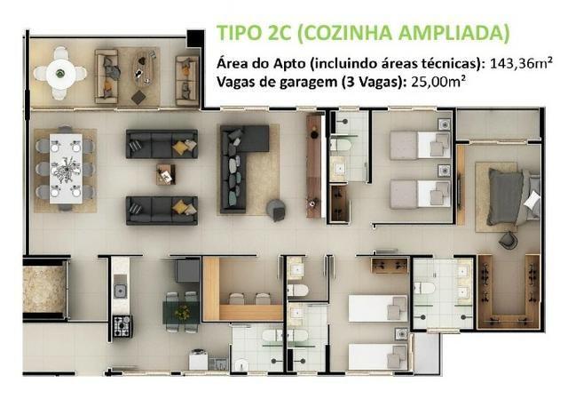 34- Cidade do Porto seu mais novo lar com 3 e 4 Suítes. Lazer completo para sua família! - Foto 17