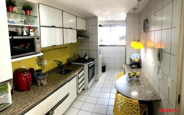 Edifício Cidrão Place, apartamento na Aldeota, 3 suítes, gabinete, 2 vagas, projetado - Foto 6