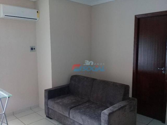 Excelente apartamento mobiliado para locação, cond. porto velho service, apt 207, porto ve - Foto 7