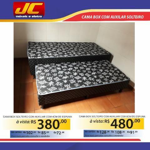Lindas camas box com auxiliar direto de fabrica . Fazemos entregas