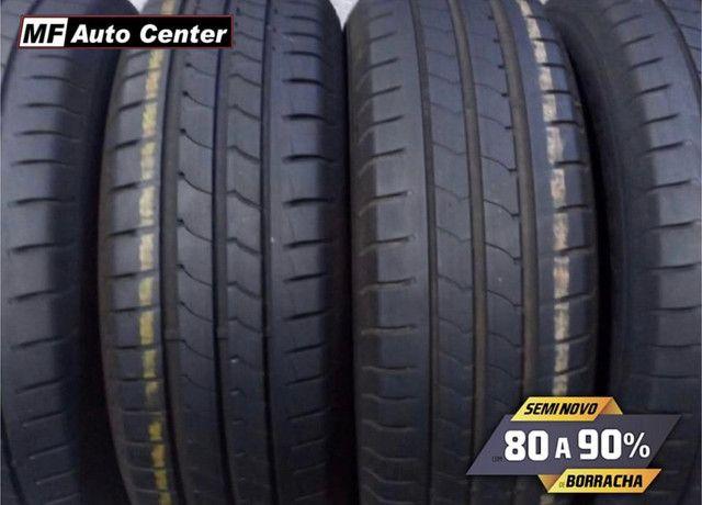 ?Pneus semi novos 205/55-16 Bridgestone - Foto 10