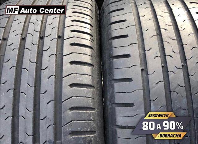 ?Pneus semi novos 205/55-16 Bridgestone - Foto 5