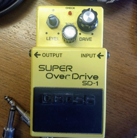 Pedaleira Super Over Drive SD-1 - Foto 2