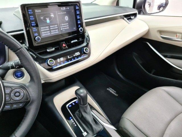 corolla altis premium hybrid 1.8 flex 2021 aceito troca - Foto 13