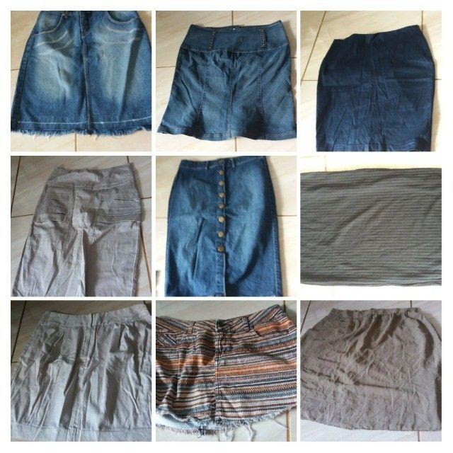 Sapatos e bolsas, vestidos, saias, calças, blusas - Foto 5