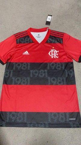 Camisas de time personalizadas 1 linha  - Foto 2