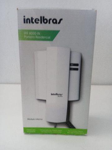Módulo Interno P/ Porteiro Residencial Intelbras Mod: IPR 8000 IN