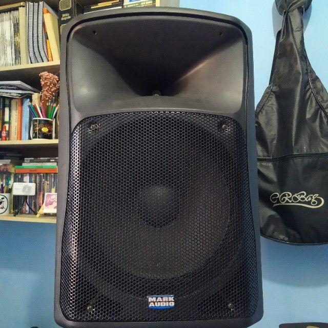 Caixa ativa MarkAudio 500w