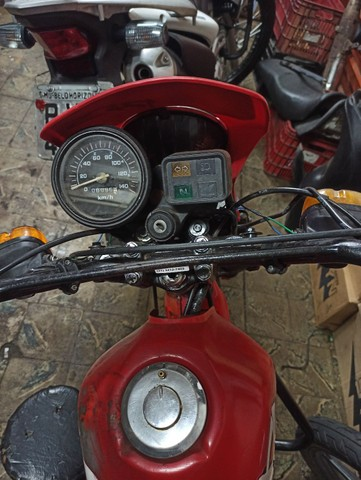 Xl125 89 vermelho doc 2021 p trasferi - Foto 3