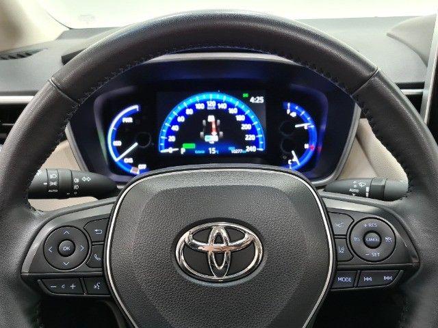 corolla altis premium hybrid 1.8 flex 2021 aceito troca - Foto 14