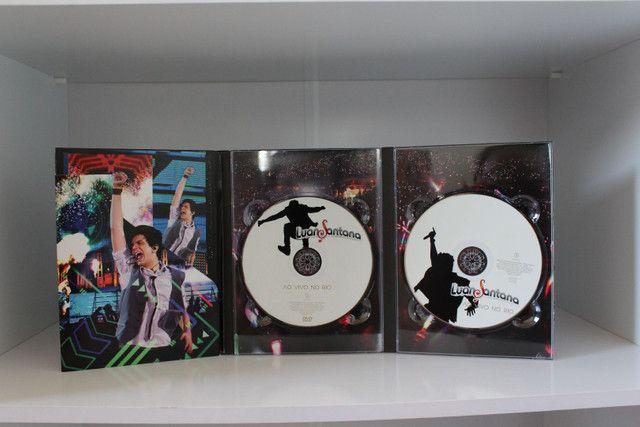 Dvd + Cd Luan Santana : Ao vivo no Rio - Foto 2