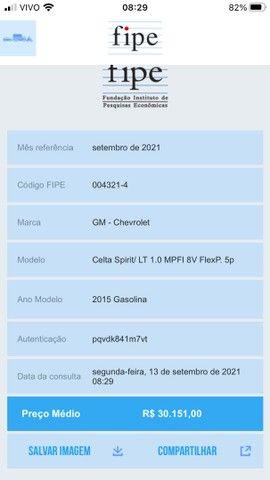 Gm Celta 1.0 Lt Completo + Gnv 2015 - Foto 11