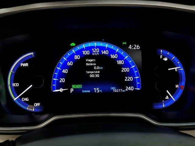 corolla altis premium hybrid 1.8 flex 2021 aceito troca - Foto 3