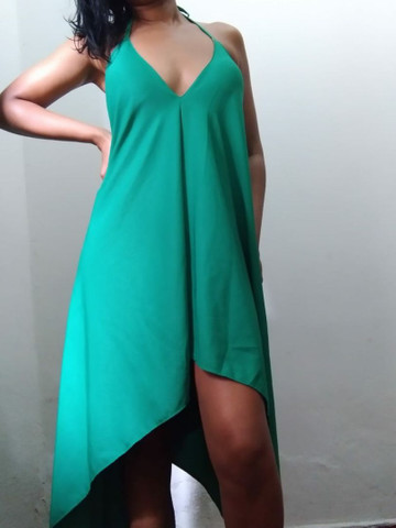 Vestido decote V despontado  - Foto 3