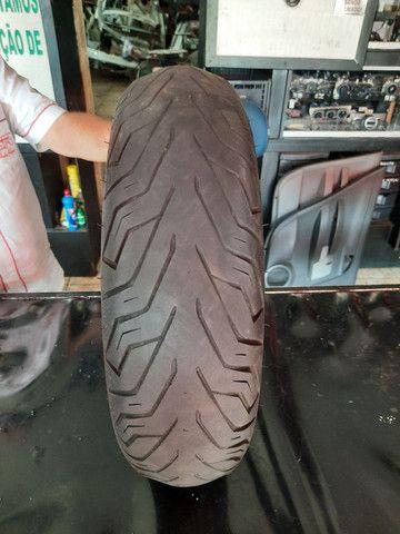 Pneu Traseiro usado para NMax Michelin 130/70-13 - Foto 2