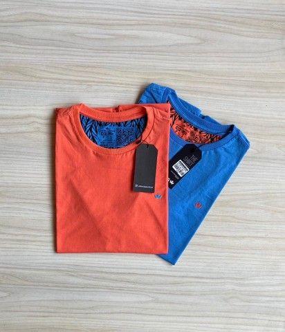 Camisas T-Shirt Básica Fio 30.1 Penteado - Foto 4