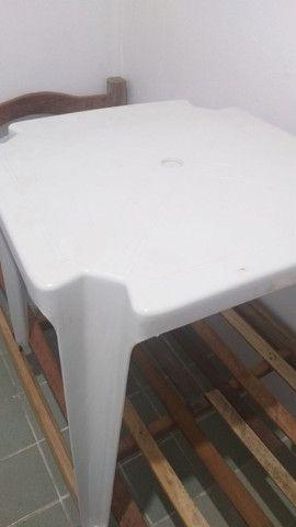Mesa de plástico quadrada  - Foto 2