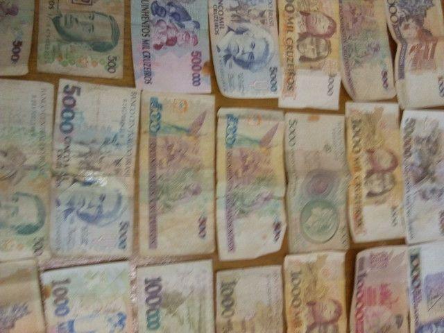 Notas de dinheiro antigas - Foto 2