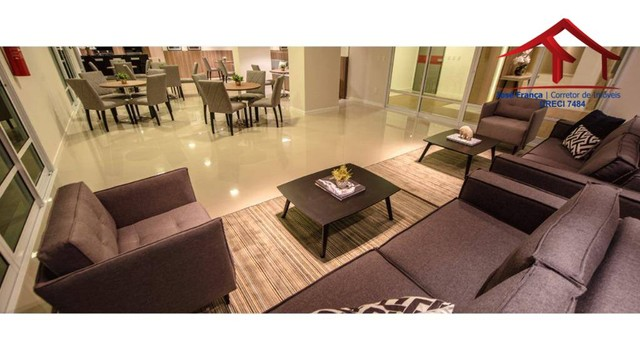 Apartamento com 3 dormitórios à venda, 112 m² por R$ 753.000,00 - Guararapes - Fortaleza/C - Foto 9