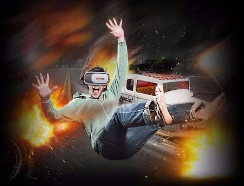 Óculos 3d Realidade Virtual Para Celular, Vídeos, Filmes e Jogos - Foto 4