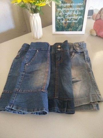 Combo de saias menina de 5 a 7 anos - Foto 2
