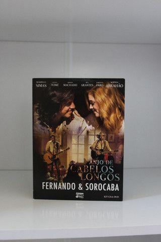 Dvd + Cd Fernando & Sorocaba : Anjo de cabelos longos