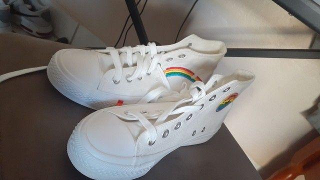 Sapato tipo all star NOVO