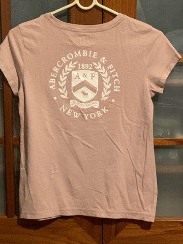 Camiseta rosa claro original - Foto 2