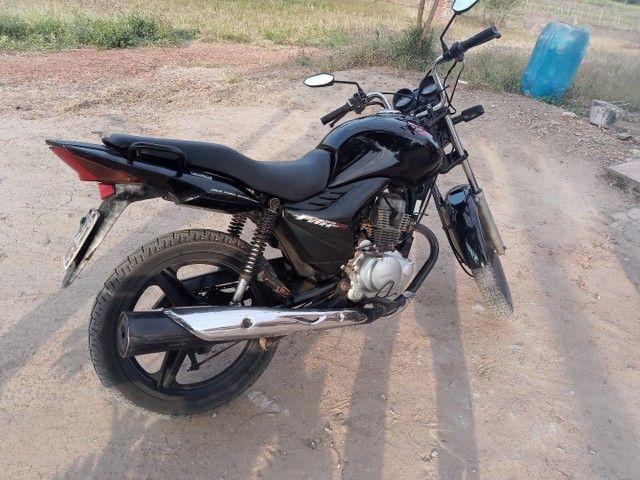 Moto fan 150 semi nova - Foto 3