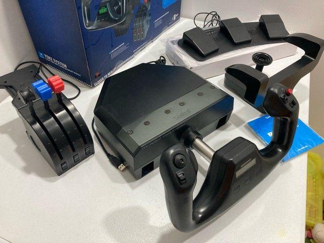 Saitek Pro Flight Yoke System Completo + Pedal Switch - Foto 3