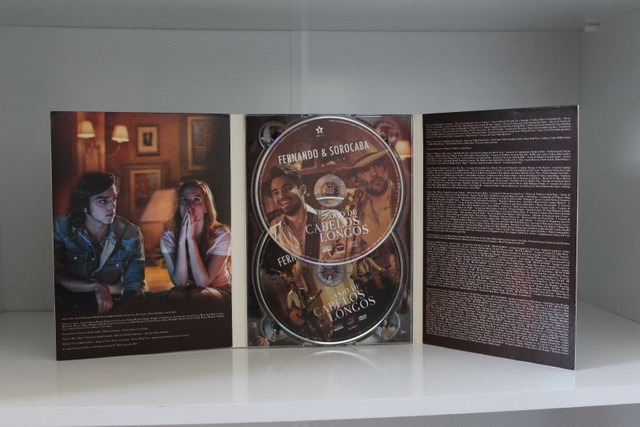 Dvd + Cd Fernando & Sorocaba : Anjo de cabelos longos - Foto 2