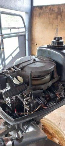 motor de popa 5 hp - Foto 4