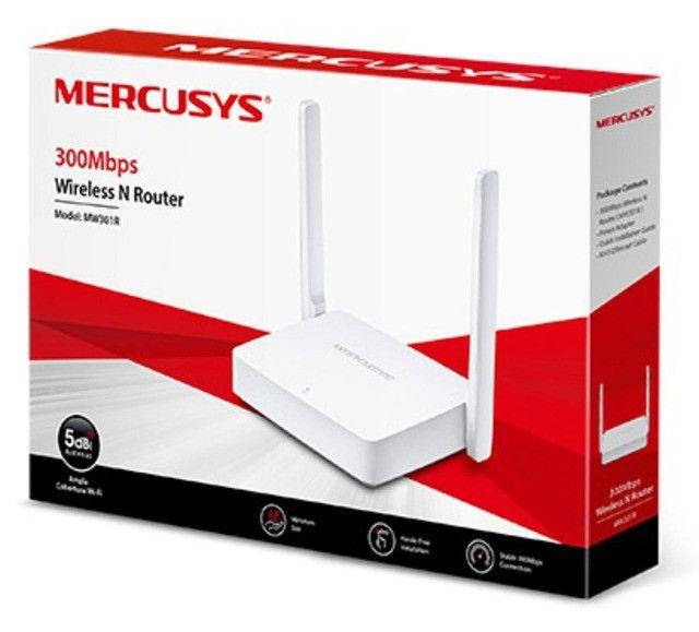 roteador wireless n sem fio mercusys mw301r até 100 mbps 2 antenas - ananindeua aurá - Foto 5