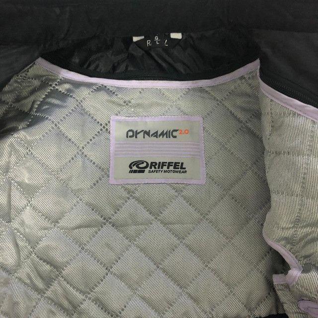 BARBADA- Conjunto Motociclista (Jaqueta e calça) Riffel Feminino Dynamic 2.0  - Foto 7