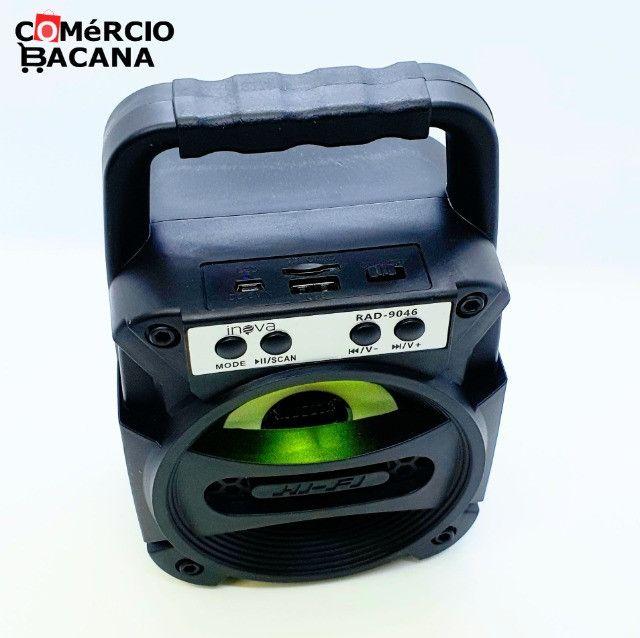 Mini caixa de som Inova RAD-9046 - Foto 3