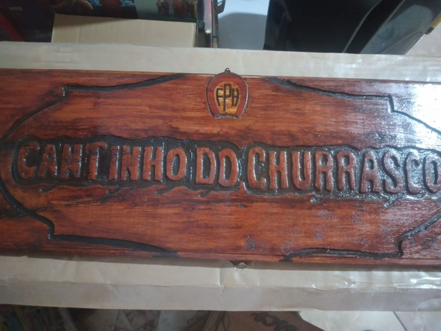 Entalhes em madeira comaru maciça 1,10 x 25 cm - Foto 5