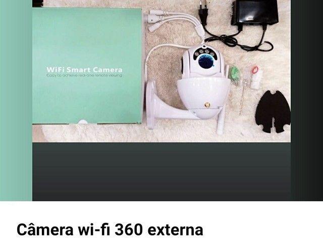Câmera Ip Wi-fi Dome Visão Noturna Hd Prova D´água Android<br><br>