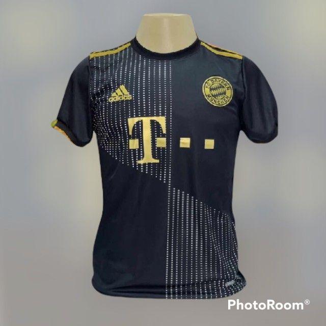 Camisa de time  1 linha nacional  - Foto 2