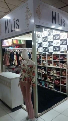 Linda loja de esquina com 2.2 m2 na galeria Goiânia Center Modas na av. 44