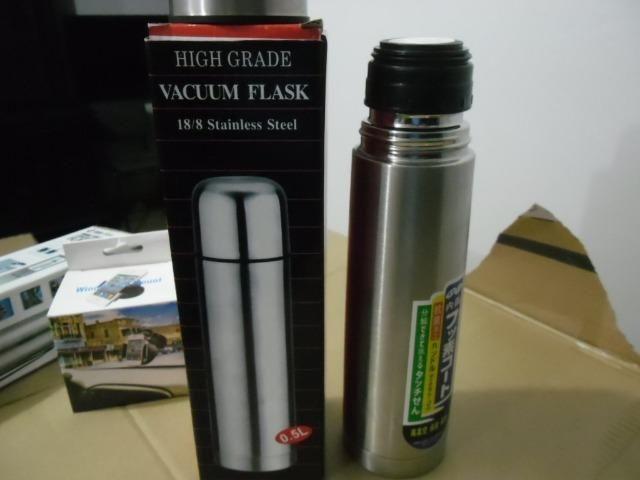 Garrafa Térmica 500ml Aço Inox Com Vacuum Inquebrável