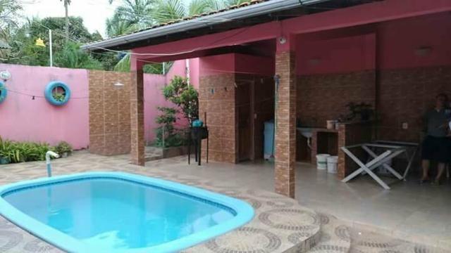 Vendo excelente casa com piscina