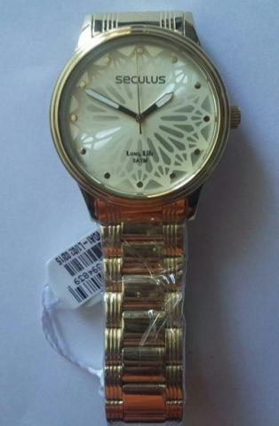 Relógio Seculus 28546lpsvda1 Long Life - 1 ano de garantia