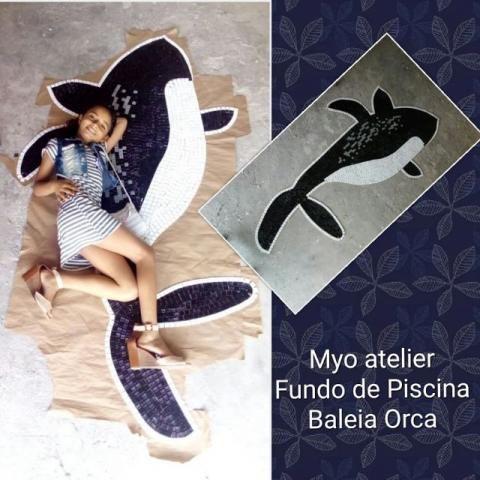 Baleia Mosaico Piscina - Foto 3