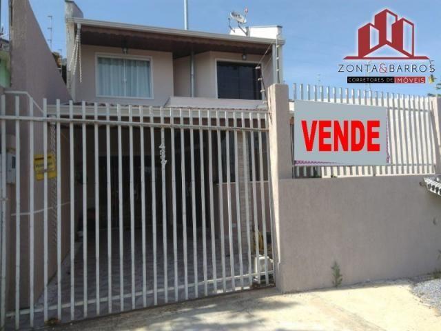 Casa à venda com 3 dormitórios em Santa terezinha, Fazenda rio grande cod:SB00002 - Foto 4