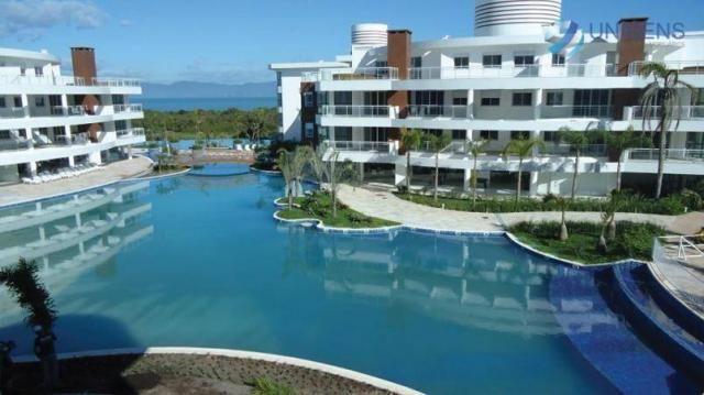 Apartamento mobiliado à venda no marine home resort - cachoeira do bom jesus, florianópoli