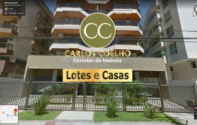 G Cód 251 Excelente Cobertura 4qrts/ 3suites em Cabo Frio Rj!!