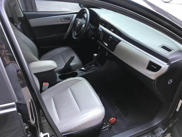 Corolla 2015 XEI Muito Novo (Troco e financio) - Foto 5
